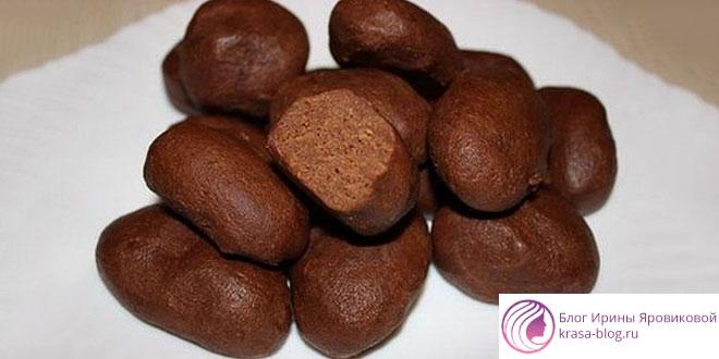 Пирожное картошка: рецепт из печенья, в домашних условиях