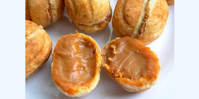 Печенье «Орешки» со сгущенкой, старый рецепт по ГОСТу.
