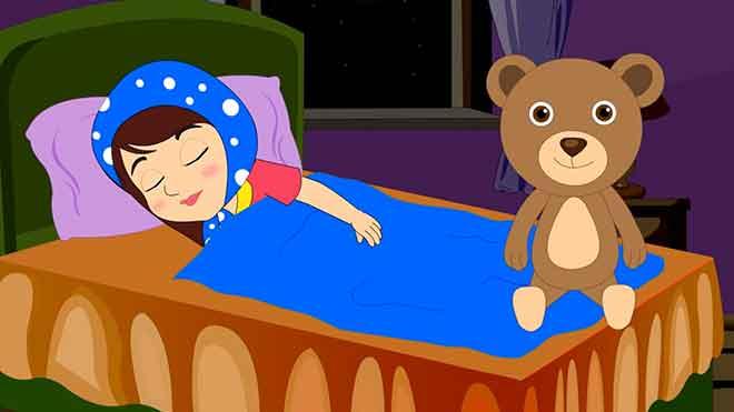 Ура! Наш малыш засыпает в своей кроватке