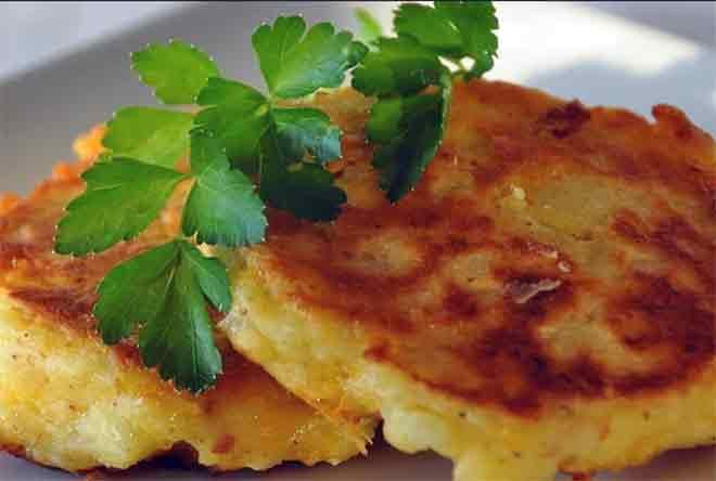 1. драники из картофеля